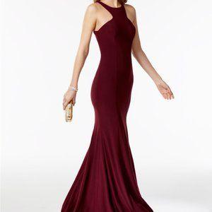 Racerback Halter Gown / Maxi Dress / Prom / Formal